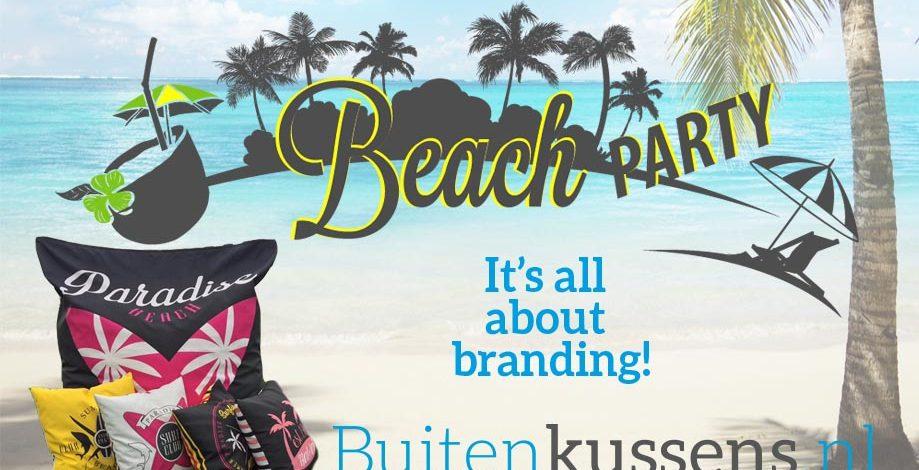 Organiseer jij binnenkort een beachparty?