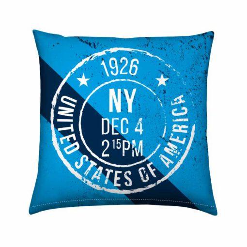 Bootkussen lijn Nautical New-York-Bleu