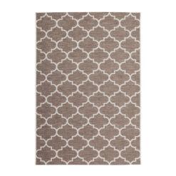 buitenkleed terraskleed patroon kleur beige 200x290cm