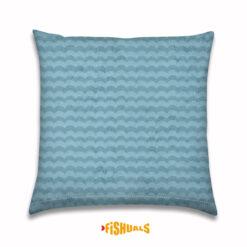 Buitenkussen zomerse golven lichtblauw
