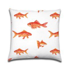 Buitenkussen lovely Gold Fish Goudvis
