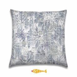 Sierkussen - IJskristallen - Kerstkussen - Decoratie