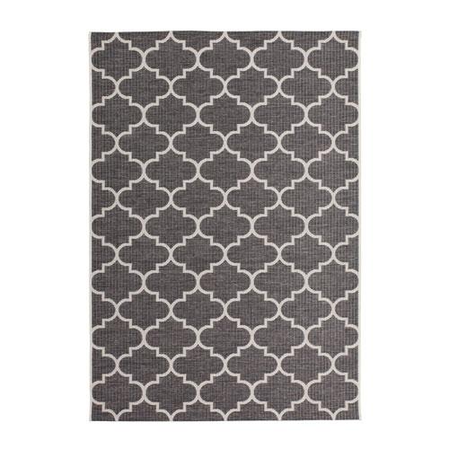 buitenkleed terraskleed patroon kleur grijs 120x170cm