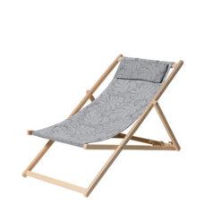 Strandstoel Palm Grey